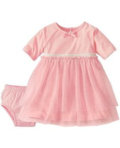 Toddler Tulle Pink Swish Dress Set by @hanna