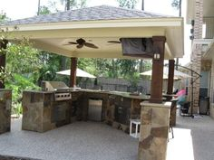 Dallas Landscape Architects Outdoor Kitchens Fireplaces  Dallas Simple Outdoor Kitchen Designs Houston Review