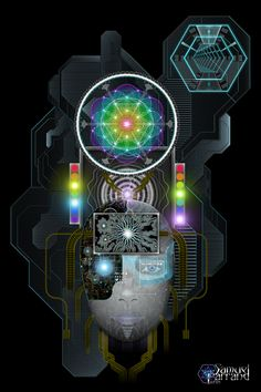 ༺ An Encounter with an Android ༻ by Samuel Farrand
