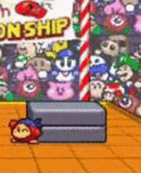 Waddle Dee packs a powerful punch