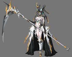 mask by jin jurin on ArtStation. Fantasy Character Design, Character Design Inspiration, Character Concept, Character Art, Fantasy Armor, Fantasy Weapons, Dark Fantasy Art, Fantasy Characters, Female Characters