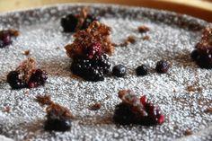 Profumo di broccoli: Cheesecake cacao e frutti di bosco