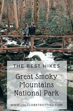 The best hikes to do in Great Smoky Mountains National Park! The Smoky Mountains are a beautiful place to travel to for an amazing outdoor experience. Get a travel itinerary of the best things to do ( Great Smoky Mountains, Smoky Mountains Hiking, Appalachian Mountains, Smoky Mountains Tennessee, Tennessee Hiking, Tennessee Vacation, Gatlinburg Vacation, Gatlinburg Tennessee, East Tennessee
