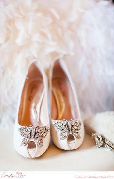 #wedding #shoes © Amanda Wilcher Photographers | www.amandawilcher.com
