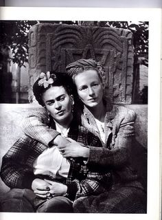 Frida Kahlo and Gertrude Blom