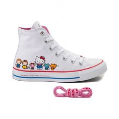 Converse Chuck Taylor All Star Hi Hello Kitty® Friends Sneaker - White -  399616   6a7ae66c3