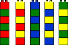 Klicka för att stänga bilden Lego Duplo, Lego Math, Educational Activities For Kids, Montessori Activities, Preschool Learning, Toy Room Storage, Modele Lego, Math Patterns, Printable Numbers