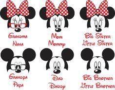Disney Family shirt - Mickey and minnie custom shirts - Grandma Disney shirt - Grandpa Disney shirt -Mom and Dad matching shirts by CuteCreativesCreatio on Etsy https://www.etsy.com/listing/270621563/disney-family-shirt-mickey-and-minnie