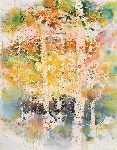 Creating a Backlit Watercolor Landscape | Karlyn Holman, ArtistsNetwork.com
