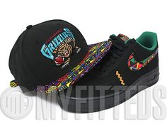 Vancouver Grizzlies Tribal Print Urban Jungle 9Fifty Strapback Cap by NEW ERA x NBA