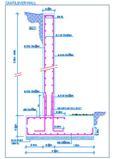 047 Cantilever retaining walls Specification and details - Rialto ...