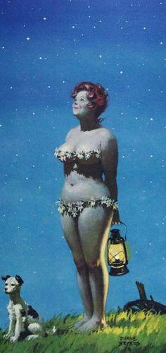 Hilda, pin-up 1950s, makes me smile!