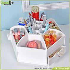 360 degree rotating wooden cosmetic and nail polish storage box, View wooden storage box, Goodlife Product Details from Shenzhen Goodlife Houseware Co., Ltd. on Alibaba.com