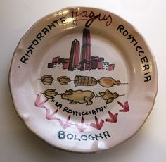 Piatto del buon ricordo  Rosticceria Jagus - La rosticciata - Bologna