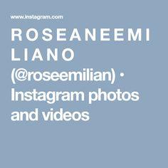 R O S E A N E  E M I L I A N O (@roseemilian) • Instagram photos and videos