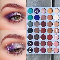 Gorgeous eye look using a #morphe palette! Pick one (or two or three) today from The Makeup Club today
