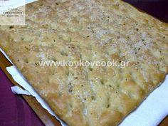 ΦΟΚΑΤΣΙΑ Greek Cooking, Banana Bread, Bakery, Food And Drink, Homemade, Breads, Desserts, Recipes, Kitchen