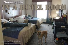 How to Survive Hotel Life #pcsing #armylife