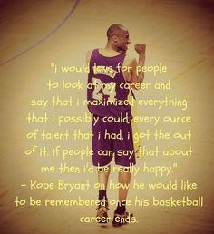 Kobe Bryant Quote