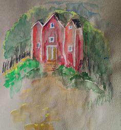Kesämökki Painting, Art, Art Background, Painting Art, Kunst, Paintings, Gcse Art