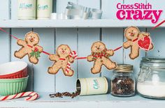 Sweet Treats by Rhona Norrie Cross Stitch Crazy Issue 210 December 2015 Zinio Saved