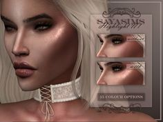 SAYASIMS ~ Highlight N1 • 15 Colour options • Custom Thumbnail • Two versions for each swatch, one for Skins and one for overlays. • Teen to elder • Female/Male • Not HQ mod Compatible • Can be found...