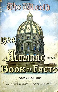 The World Almanac and Book of Facts 1924
