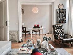 Advent. Das erste Lichtlein brennt | SoLebIch.de - Foto von Mitglied cozyatheart #solebich #interior #einrichtung #inneneinrichtung #deko #decor #wohnzimmer #esszimmer #livingroom #parlor #lounge #diningroom #diningtable #sessel #armchair #lamp #hängeleuchte