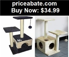 """Animals-Cats: 30"""" Cat Tree Play House Tower Condo Furniture Scratch Post Perch - BUY IT NOW ONLY $34.99"""