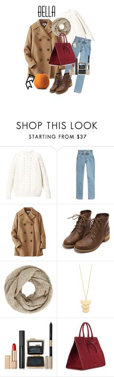 """🍁🍂🕸"" by mbnduta ❤ liked on Polyvore featuring Diesel, Vetements, Uniqlo, John Lewis, Gorjana, Estée Lauder and Mansur Gavriel"