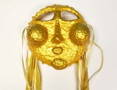 The Sun Recycled Paper Masquerade Mask by TARAIZE on Etsy, $75.00