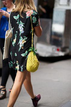 What a cute tropical bag!