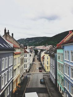 Bergen, Norway - Places to explore Places Around The World, Oh The Places You'll Go, Travel Around The World, Places To Travel, Places To Visit, Around The Worlds, Oslo, Bergen, Future Travel