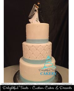 3 Tier Buttercream Wedding Cake With Cascading Orchids Venue TheCrystalBallroomOrlando By Delightful Treats Cakery Orlando