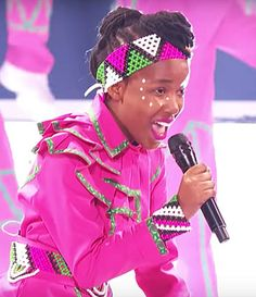 This all pink rendition of U2's song Beautiful Day by the South African Youth Choir enthralled the audience and judges at the quarter finals of America's Got Talent and got them through to the semi-finals. #pink #beautiful_day #AGT #choir #South_Africa #jewellery #africanstreetvibe #trending