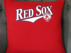 Boston Red Sox T Shirt Throw Pillow