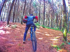 Don't look back in anger! Just go ride for living  #downhill #mountainbike #mountainbiking #landscapephotography #landscape #forest