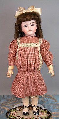 Lovely-Handwerck-99-DEP-26-034-Antique-Bisque-Child-Doll-on-Near-Mint-Body