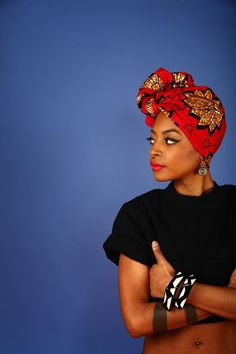 Hottest 5 African Print HeadWrap Tutorials & How To Choose The Right Fabric For A Fab HeadWrap.