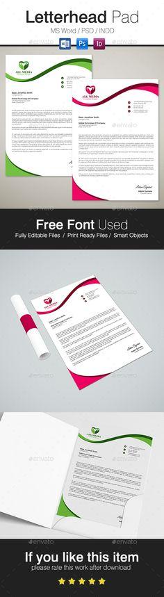 Creative Letterhead - Stationery Print Templates