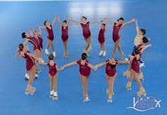 Las patinadoras #ClubPatinajeISP preparan las coreografías que presentarán en el festival de teatro, patinaje, danza y ensemble 2016