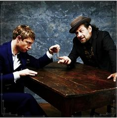 Martin Freeman, Andy Serkis and The One Ring - The Hobbit photo shoots
