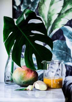 Mermelada de Mango y Jengibre - Becauseblog