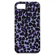 Purple Leopard Pattern