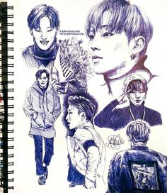 Jongup Fanart (I wish I had this kind of talent)