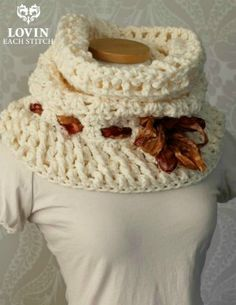 Zara Cowl Free Crochet Pattern. - ***MUST MAKE!!! ♥A