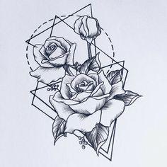 Картинки по запросу geometric tattoo cancer