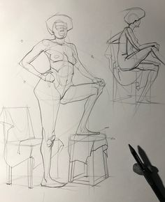 A bunch of drawings from today's figure drawing session from photo reference. Swipe to see more. #figuredrawing #anatomy #gesture #artistoninstagram