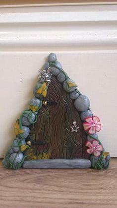 Polymer Clay Fairy Doors Tutorial: