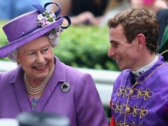 The Queen - Owner of the Year 2013 - Seen here with Ryan Moore
